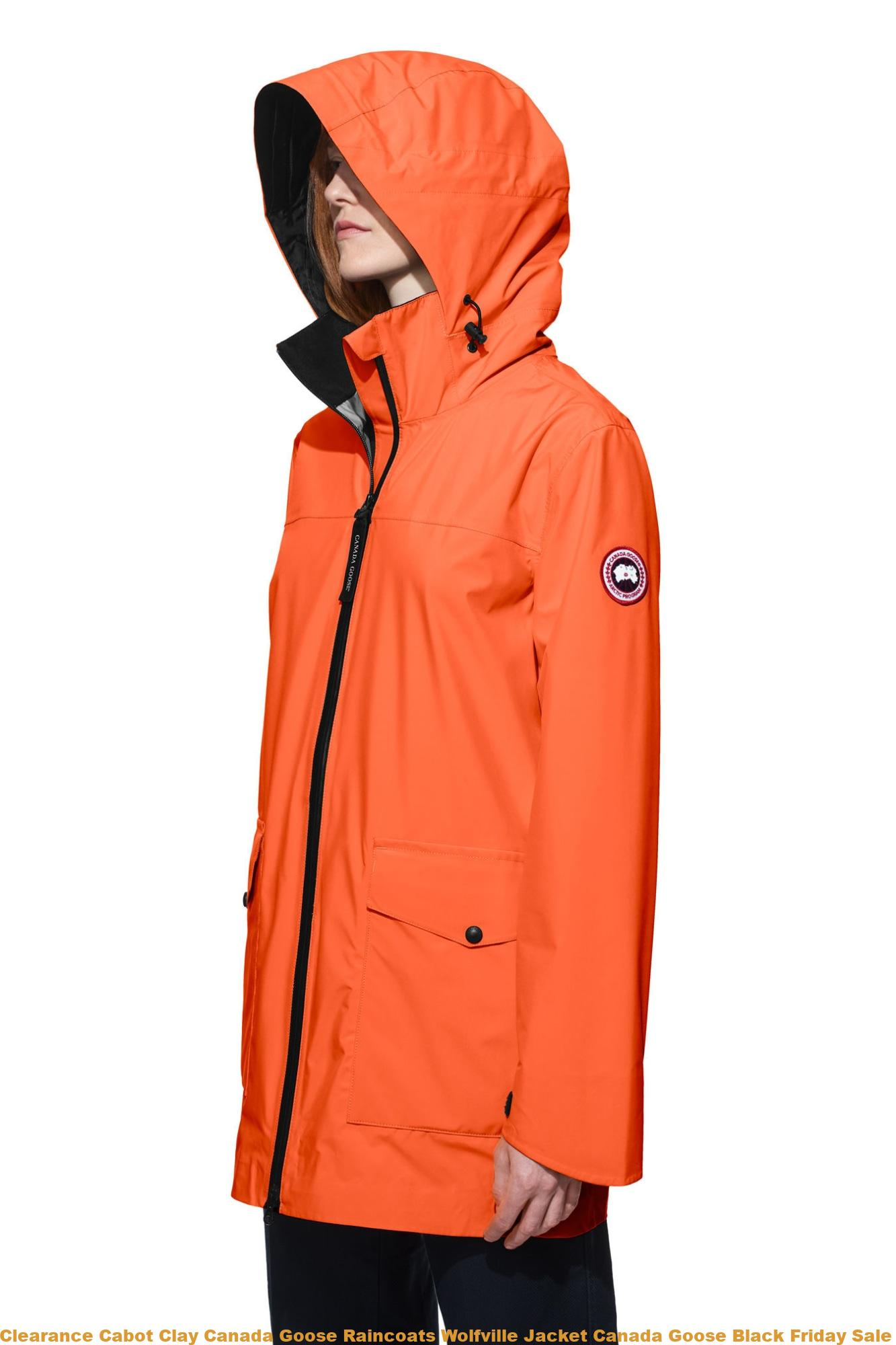 0bd50fbe440 Clearance Cabot Clay Canada Goose Raincoats Wolfville Jacket Canada Goose  Black Friday Sale Uk 5604LZ