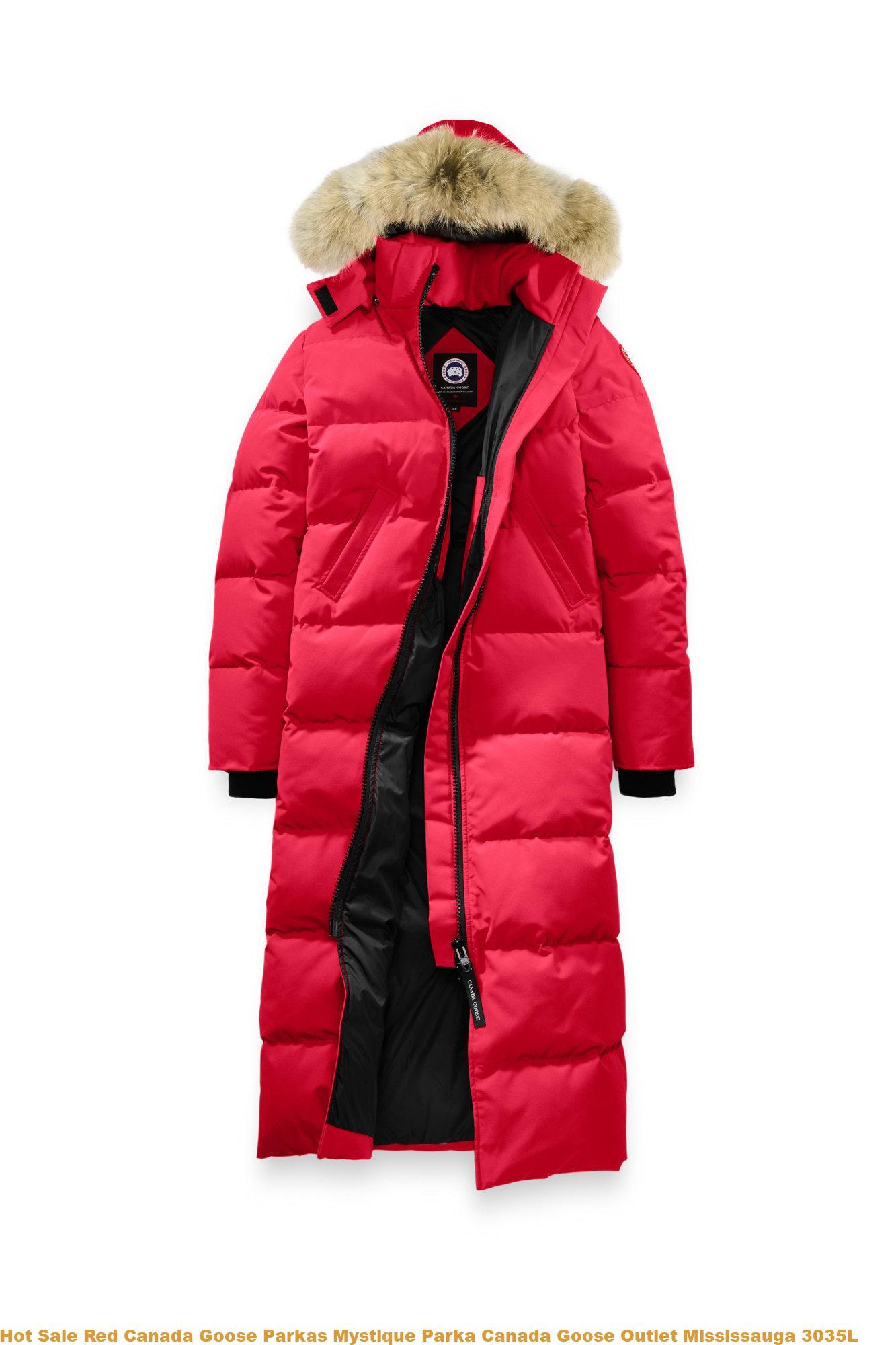 07e5af65fbd Hot Sale Red Canada Goose Parkas Mystique Parka Canada Goose Outlet  Mississauga 3035L
