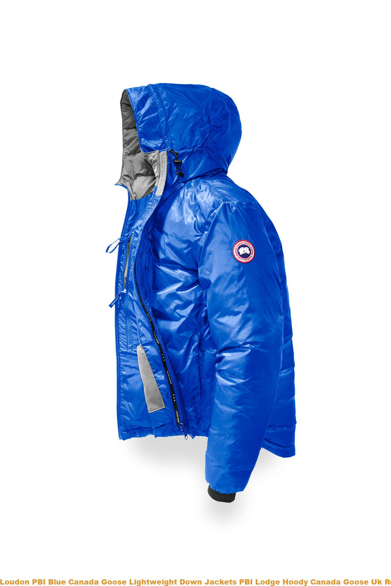 c8c8640d9d1 Loudon PBI Blue Canada Goose Lightweight Down Jackets PBI Lodge Hoody Canada  Goose Uk Reviews 5055MPB