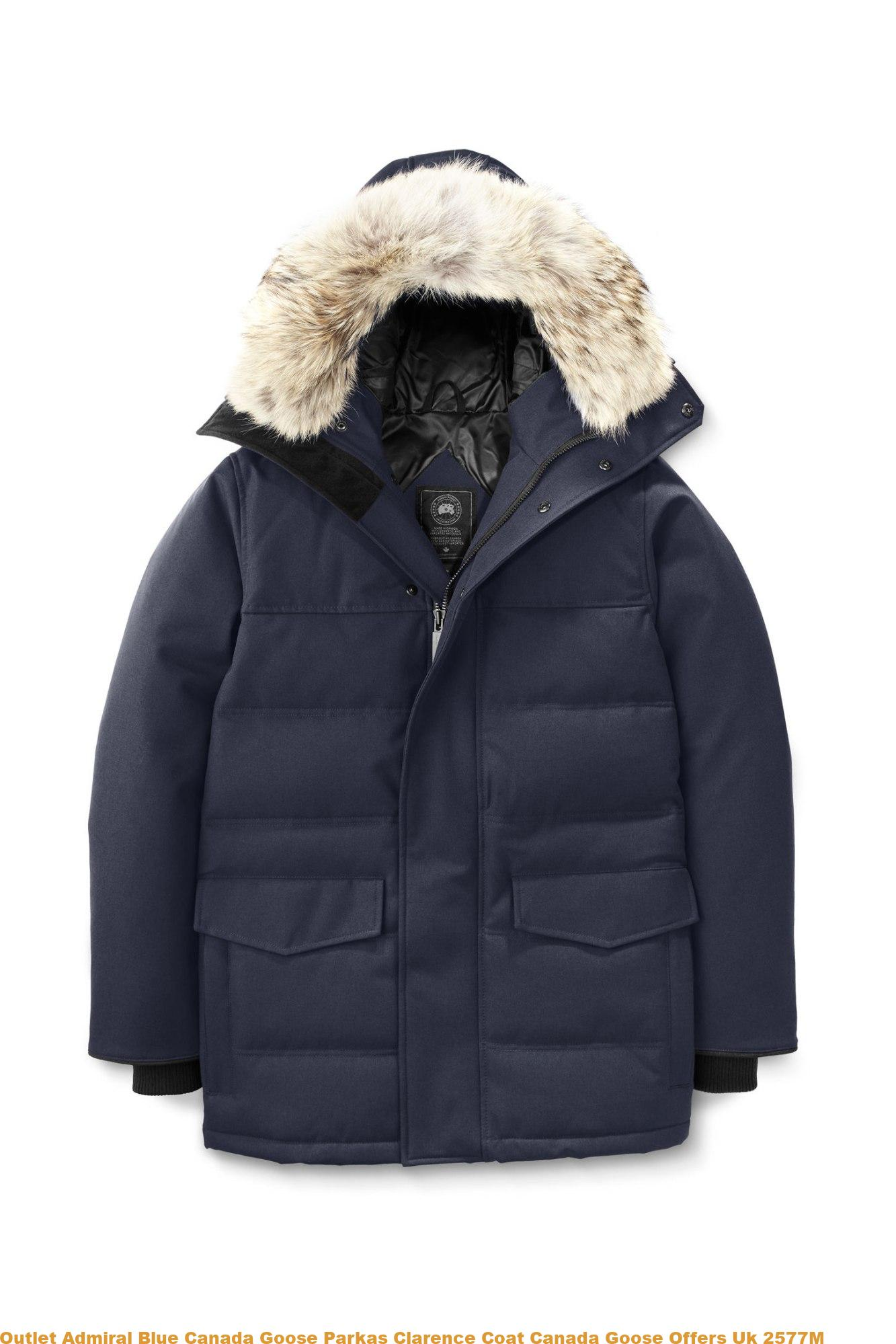 f1b3cd919 Outlet Admiral Blue Canada Goose Parkas Clarence Coat Canada Goose Offers  Uk 2577M